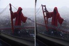 Azrail Golden Gate'te nöbet tuttu!