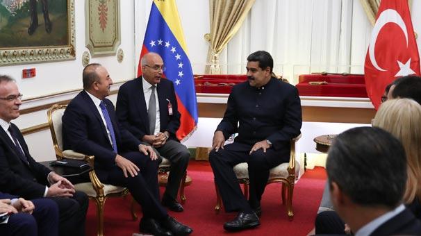 Çavuşoğlu: Türkiye, her şartta Venezuela'nın yanında olacak