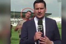 Cristiano Ronaldo spor muhabirlerini fena şakaladı