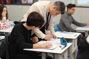 Bandırma Amerikan Kültür Kolejinde Bursluluk Sınavı Yapıldı!