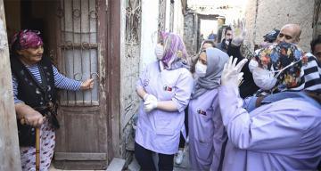 Ankara Valiliği 65 yaş üstü vatandaşların ihtiyaçlarını karşılıyor