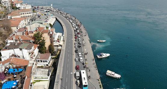 İstanbullular boğaza akın etti