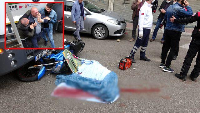 Motosiklet üzerinde infaz edildi!