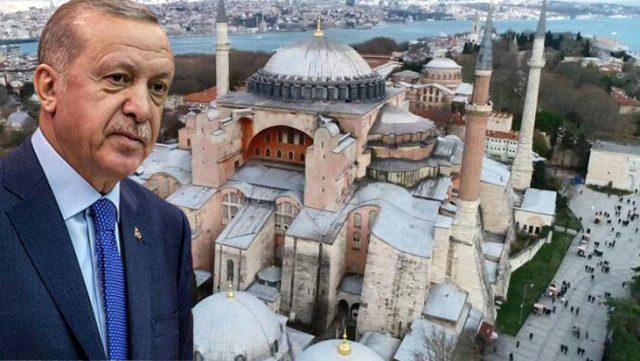 Erdoğan'ın Ayasofya sözleri sonrası Yunanistan'dan ilk resmi açıklama: Bu bir meydan okuma