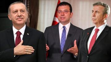 İmamoğlu, Erdoğan'ın 5 puan önünde!