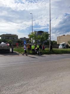 Bandırma'da Trafik Kazası!