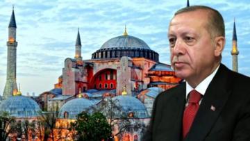 Erdoğan, Ayasofya'nın ibadete açılması için talimat verdi