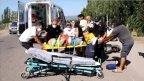 Ayvalık ta bisiklet ile motosiklet çarpıştı; 1 yaralı