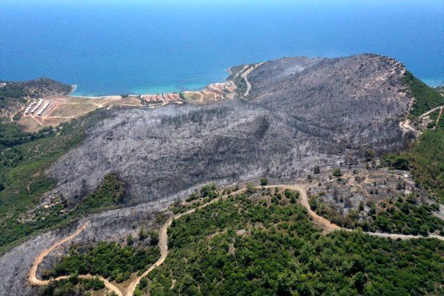 Mangal Yaktı, 400 Hektar Alanıda Yaktı!
