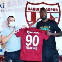 Traore Bandırmaspor a imzayı attı