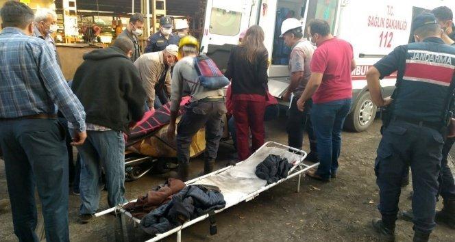 Maden ocağında göçük! 1 ölü, 3 yaralı