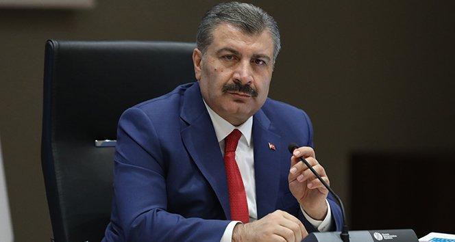 Sağlık Bakanı Koca: 'Fedakarlıktan kaçınmayan sağlık ordumuza minnettarlığımızı tekrar ifade ediyorum'