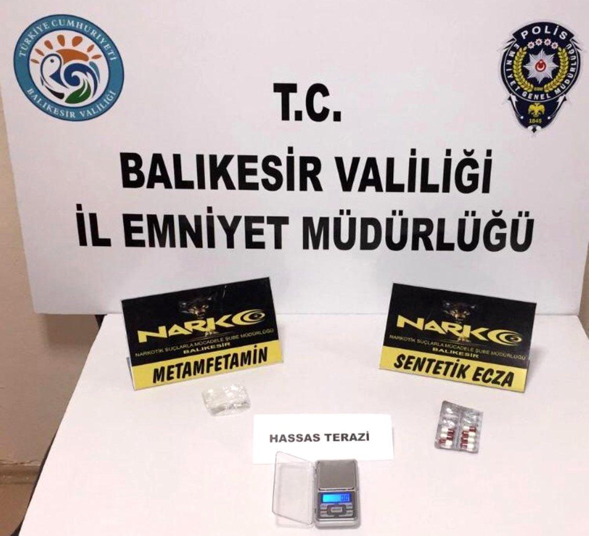 Son dakika: Balıkesir polisinden uyuşturucu operasyonu