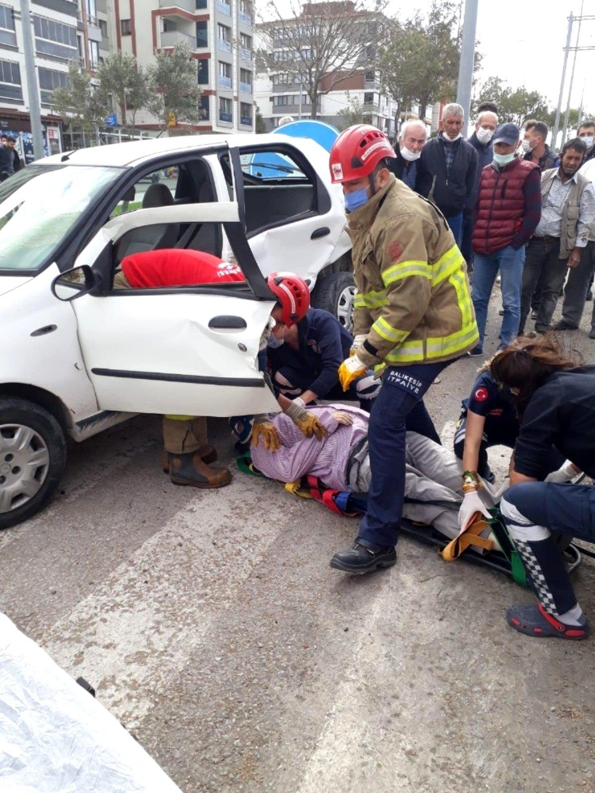 Son dakika haberleri! Bandırma da trafik kazası : 1 ölü