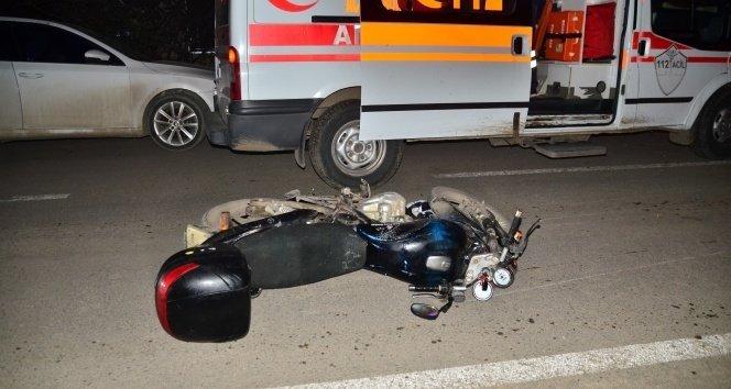 Alkollü sürücü yayaya çarptı: 2 yaralı