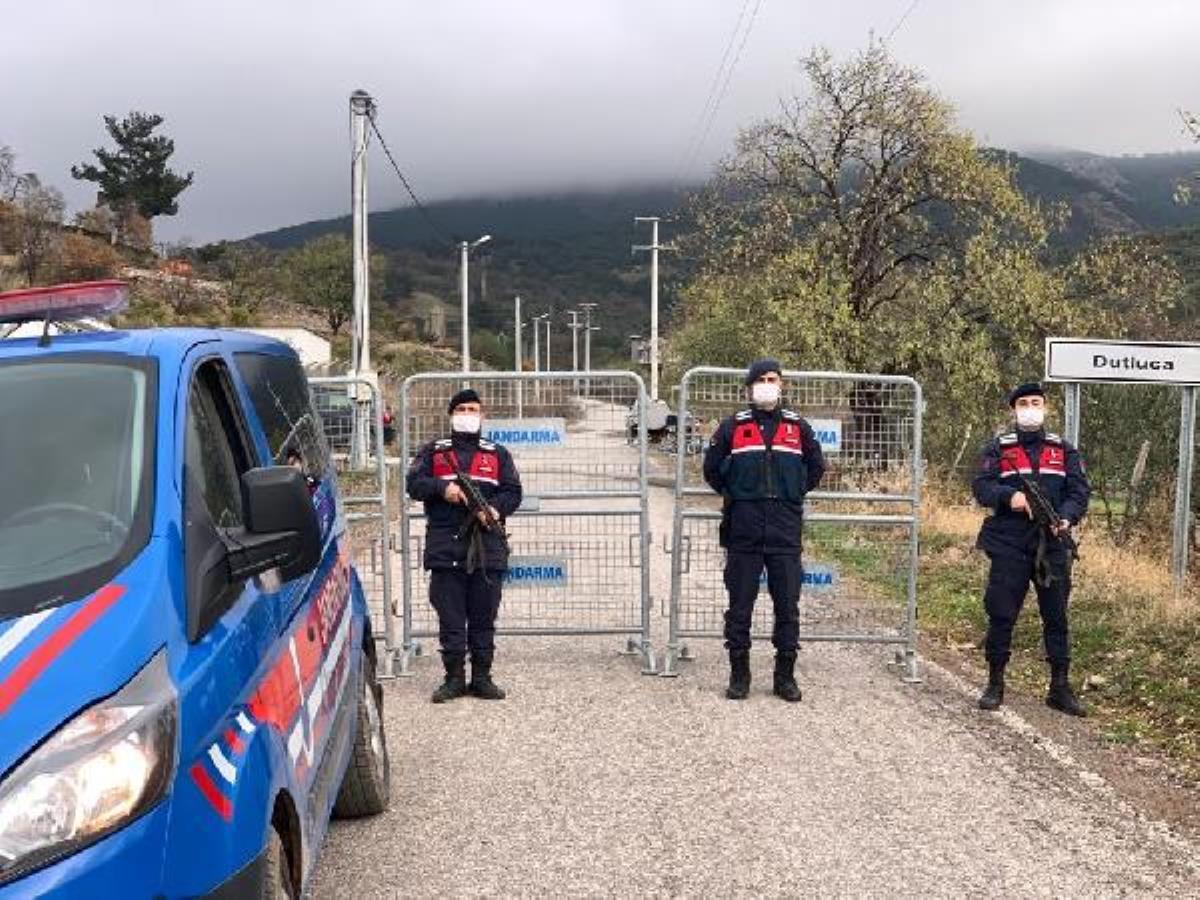 Burhaniye de bir mahalle karantinaya alındı