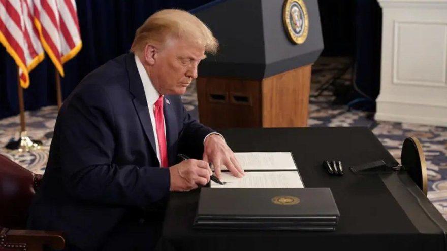 Trump Türkiye'ye yaptırım paketini imzaladı!