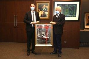 Başkan Tosun'dan İstanbul ziyaretleri