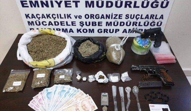 Bölgede uyuşturucu operasyonu