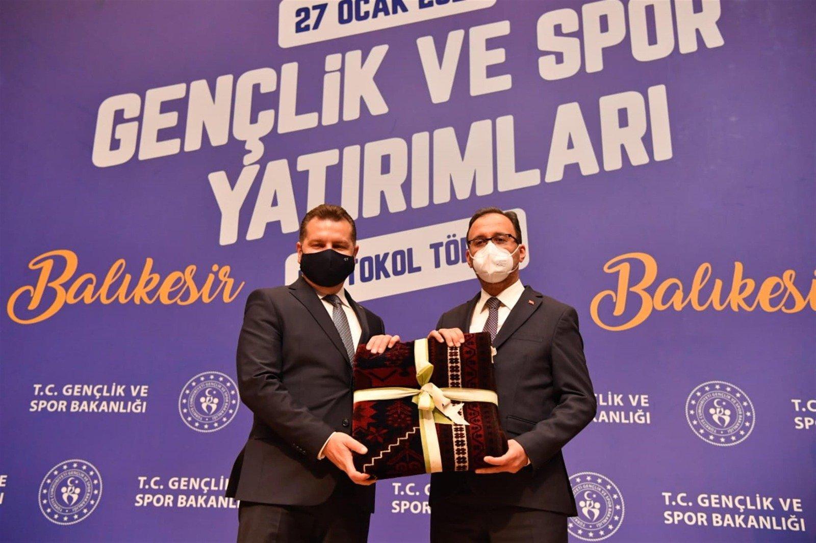 """Bakan Kasapoğlu: """"Balıkesir'in emrindeyiz"""""""