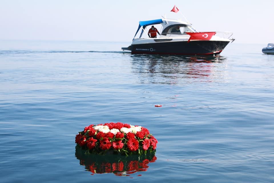 """""""Barış taşıyan gemi Kurtuluş"""""""