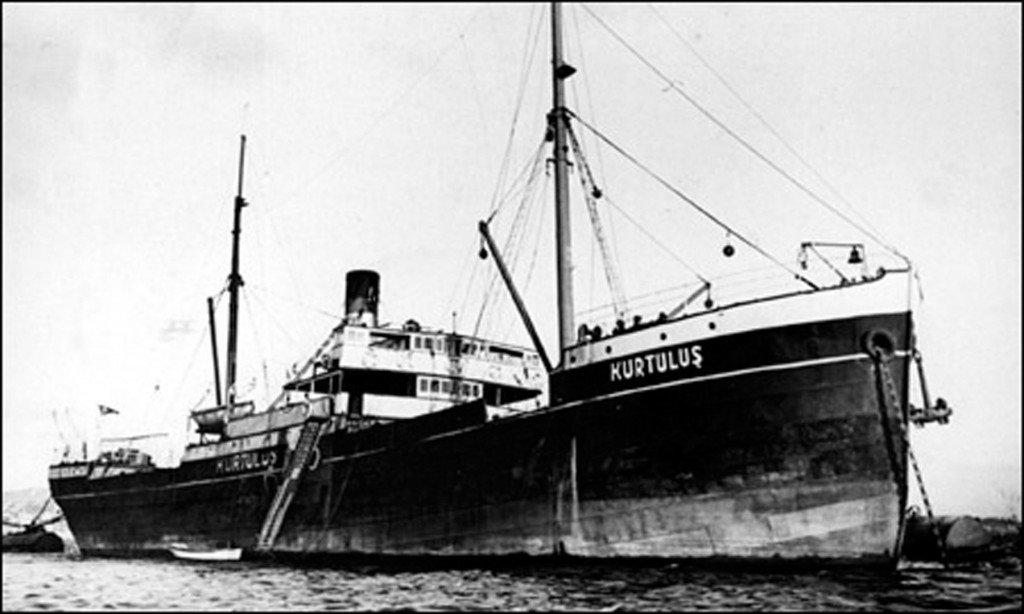 Kurtuluş Gemisi, 79 yıldır deniz dibinde