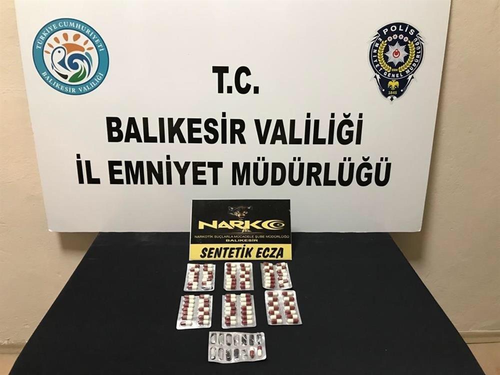 Polis'ten uyuşturucu operasyonu