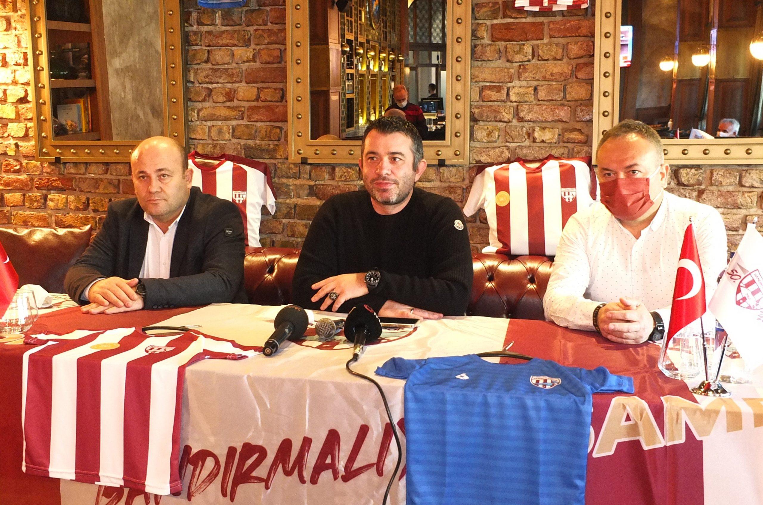 """""""Aile ortamı bozulmazsa, 5 yıl içinde Süper Lig'e oynarız"""""""