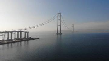 1915 Çanakkale Köprüsü'yle seyahat 6 dakikaya inecek