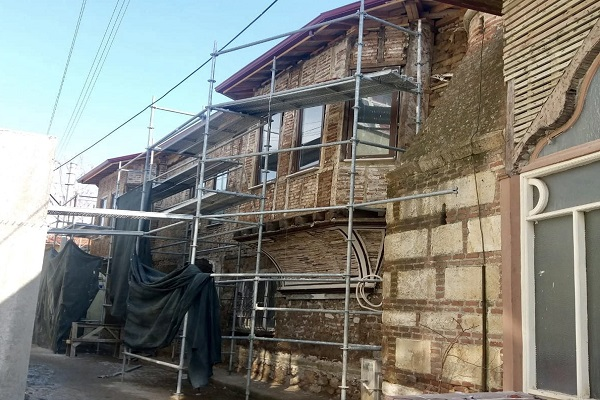 Tarihi evler restore ediliyor