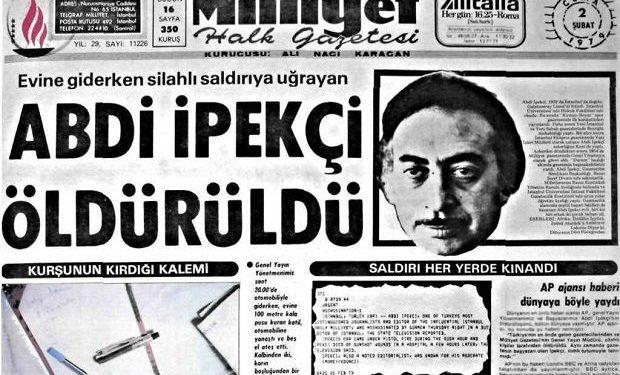 """""""Abdi İpekçi gazeteciliğe yeni bir soluk getirdi"""""""