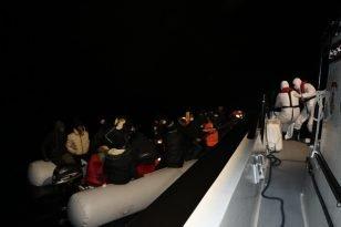 Göçmenler son anda kurtarıldı
