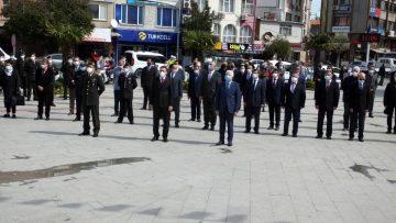 Atatürk ün Burhaniye ye gelişinin 87.yılı törenlerle kutlandı