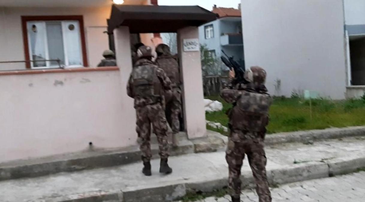 Balıkesir polisinden iki ilde ortak operasyon: 16 gözaltı