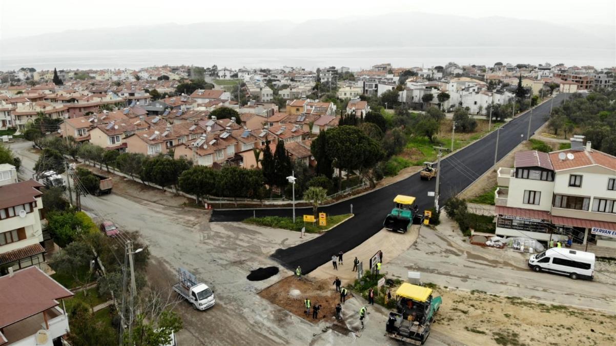 Büyükşehir de asfalt çalışmaları hızlandı