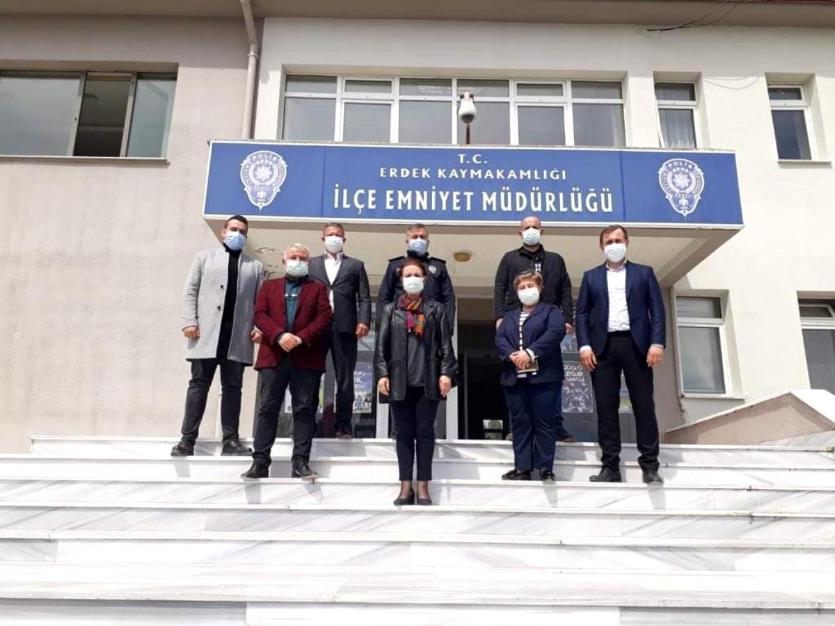 Erdek AK Parti den ziyaretler serisi