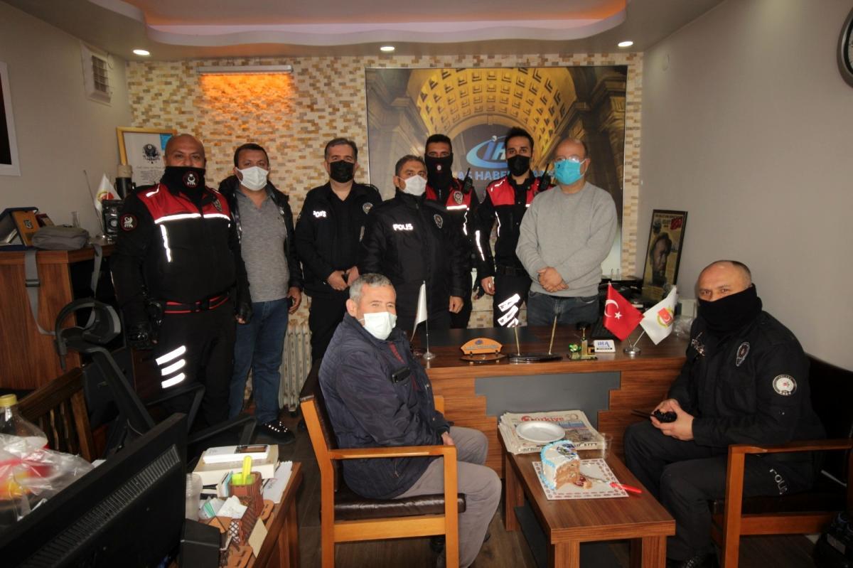 Son dakika haberi | Kavga ihbarından kutlama pastası çıktı