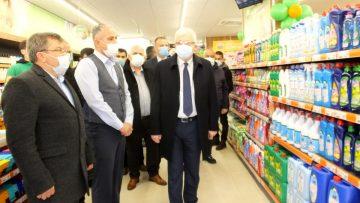 Tarım Kredi Kooperatifi Burhaniye de market açtı