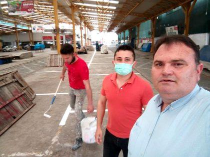 Balıkesir de pazarcılar hazırlıklara başladı