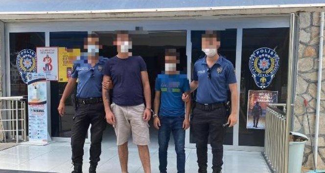 Didim'de çelik kasa hırsızları tutuklandı