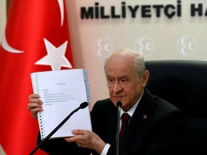 MHP'nin 100 maddelik anayasa önerisi hazır