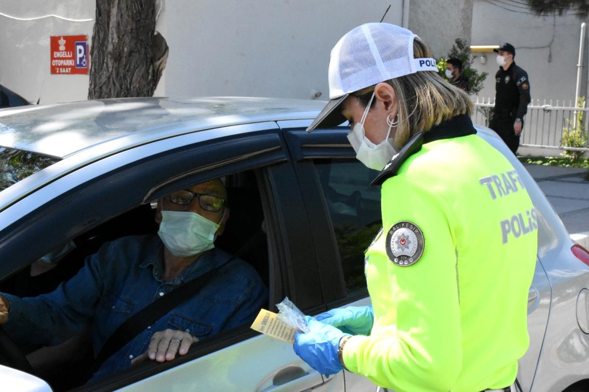 Trafik Haftası nda sürücüler bilgilendirildi