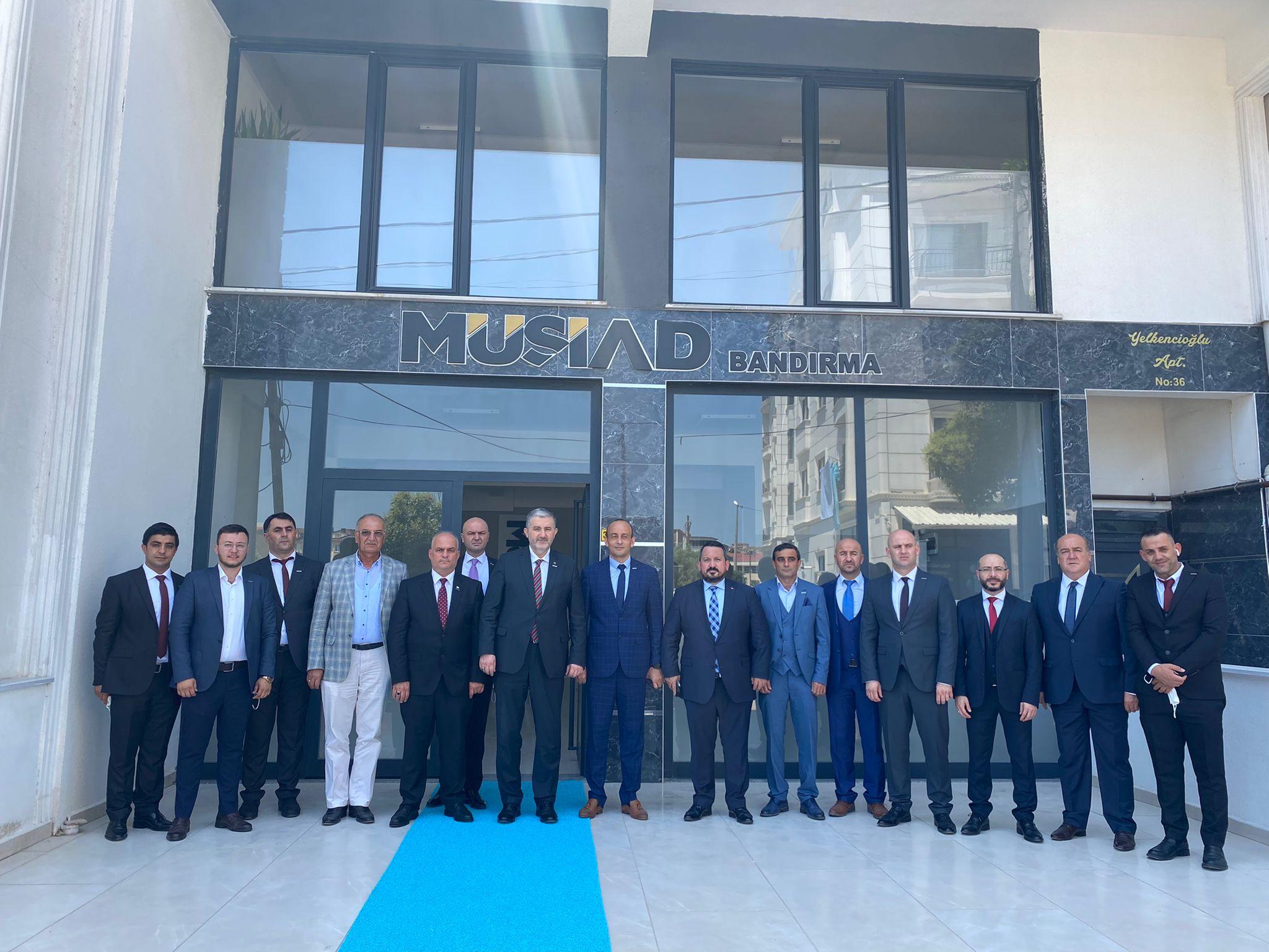 Bandırma Müsiad Yeni Başkanı Cemal Gümüş seçildi.