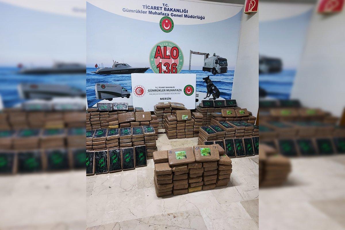 Bakan Muş: 'Mersin Limanı'nda 463 kilogram kokain ele geçirildi'