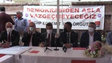 BALIKESİR – CHP Genel Başkan Yardımcısı Oğuz Kaan Salıcı, Balıkesir de konuştu