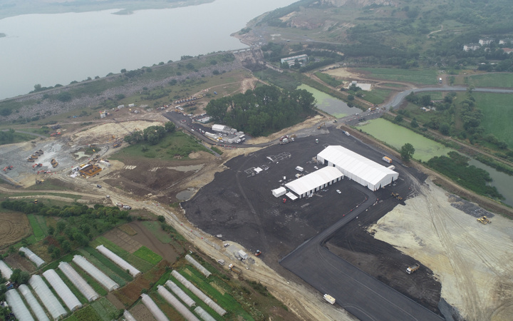 Kanal İstanbul temel atma töreni hazırlanıyor