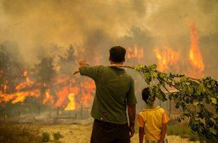 Alevlerle mücadele sürüyor: Bir orman yangını daha çıktı