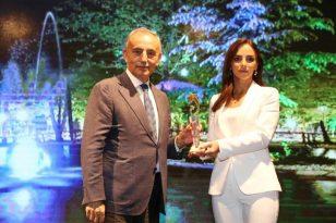 Golden City Awards'ta Küçükçekmece'ye Kültür-Sanat ödülü